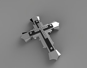 3D print model Big Massive Cross religiou-object