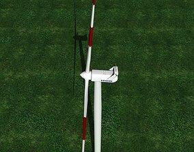 Wind Turbine Vestas V90-2-95 3D