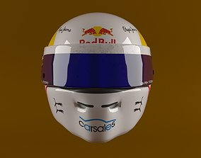 Race Helmet 3D Model