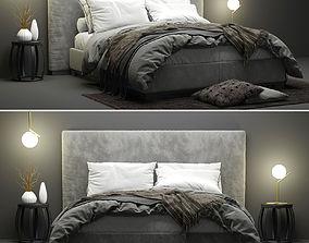 3D model Maxalto Bauci - Ovidio Bed