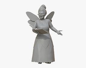 Fairy Godmother Sculpture 3D print model