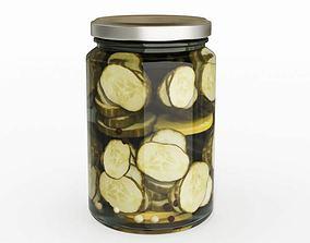 Kitchen Pickling Jar 3D model