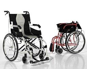 3D model Karma Ergo Flight Wheelchair