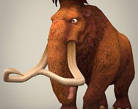 Ice Age Elephant Manfred 3D asset