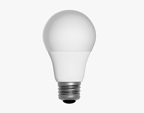 3D model Led Light Bulb 40Watts