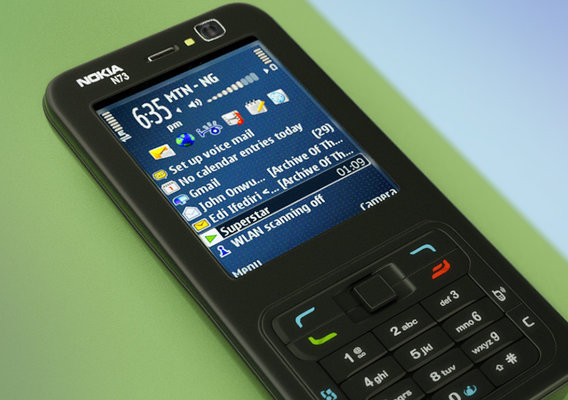 Product Showcase 3D Animation - Nokia N73