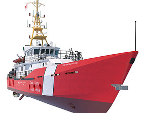 3D model Hero Class Canadian Coast Guard vessel