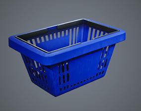 Shopping Basket 3D model realtime