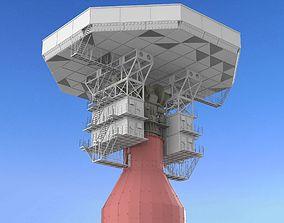 radar station Krona 3D model