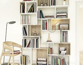 3D model Bookshelves cover