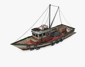 3D Fishing Vessel