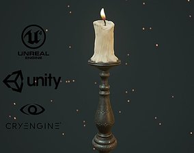 3D model CANDLE MEDIEVAL