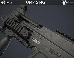3D model VR / AR ready UMP Submachine Gun