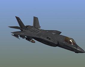 3D model F35A LightningII Strike Fighter
