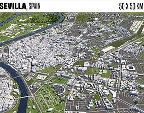 Sevilla Spain 3D model