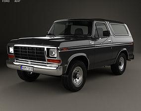 3D Bronco 1978