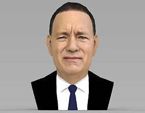 Tom Hanks bust ready for full color 3D