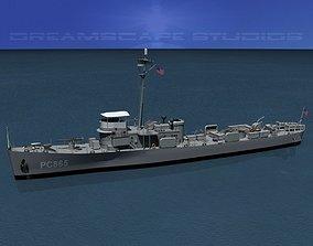 3D model USS PC-865 Subchaser