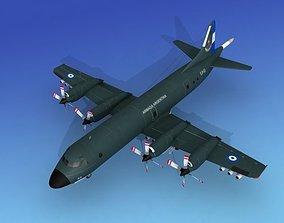 3D Lockheed P-3 Orion Argentina Hp