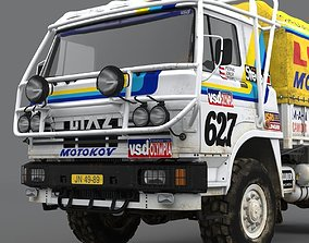 LIAZ 1985 Dakar version 3D model