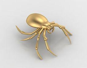 Cute spider pendant 3D print model