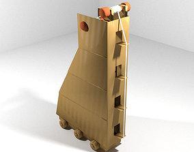 Medieval War Machine - Siege Tower 3D model