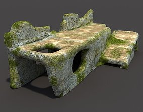 3D English Castle Ruin
