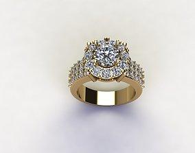 women ring design cad design R7 3D