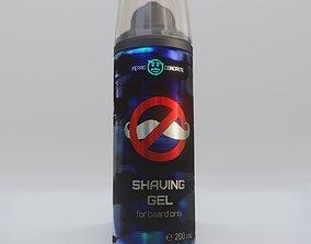Shaving Gel for beard only for fun ballon 3D model