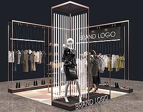 CLOTHES STORE 3D model business