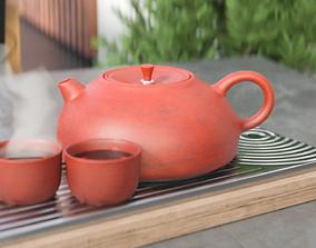 Tea set 3D PBR table