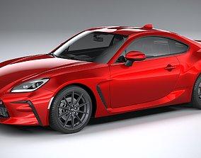 3D model Toyota GR 86 2022