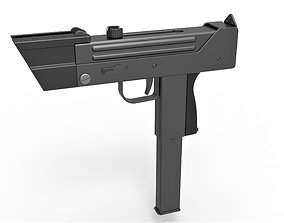 Modified MAC-11 from the movie Total recall 1990 3D model