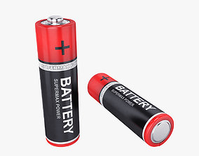 electric 3D Battery AA