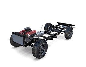 Range Rover Classic Full Chassis 3D model
