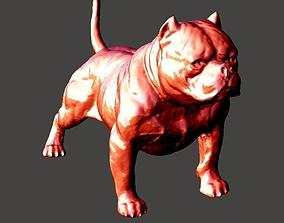 3D printable model American Bully Dog
