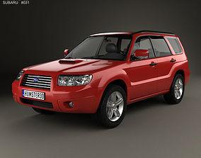 Subaru Forester 2006 3D
