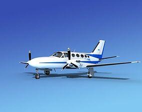 Cessna 425 Conquest I V03 3D model
