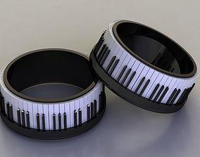 Piano ring 82 3D print model