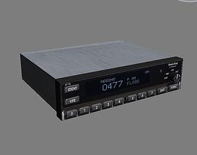 Transponders and UAT Transceivers KT 74 3D asset