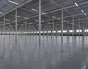 Industrial Warehouse Interior 5b 3D asset