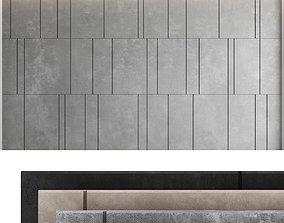 Decorative wall panel set 43 3D model