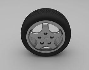 Porsche Wheel tire 3D model