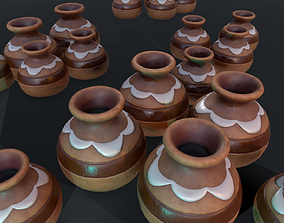 Stylized Clay Pot - Game Ready 3D asset