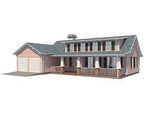 Family House 3 3D model