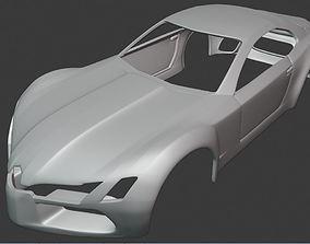 3D print model BODY CAR - MERCEDES BENZ