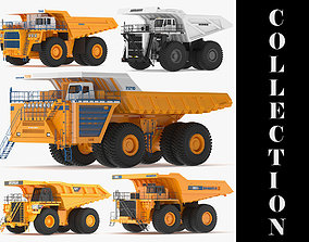 5 Biggest Truck in the World 3D model