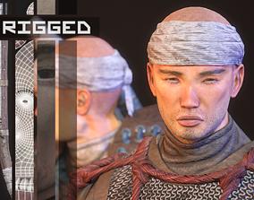 3D model Feudal Warrior