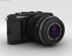 Olympus PEN E-PL5 Black 3D model