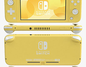 Nintendo Switch Lite - Yellow 3D